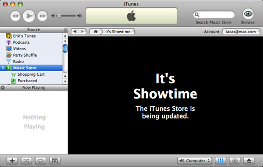 Showtime iTunes