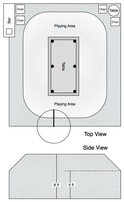 Pool Room Long