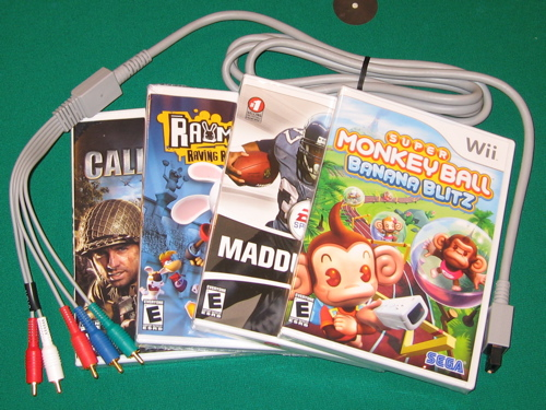 Wii Game Boxes