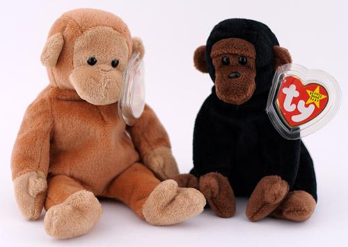 Beanie Baby Monkeys