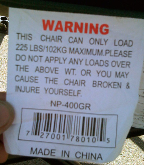 Chair Broken