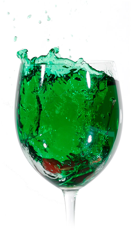 Cherry Green Liqueur