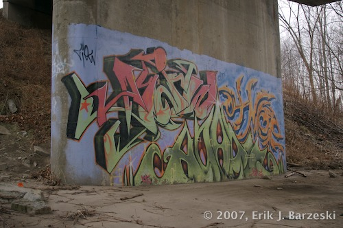 Creek Graffiti