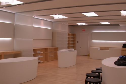 Empty Apple Store