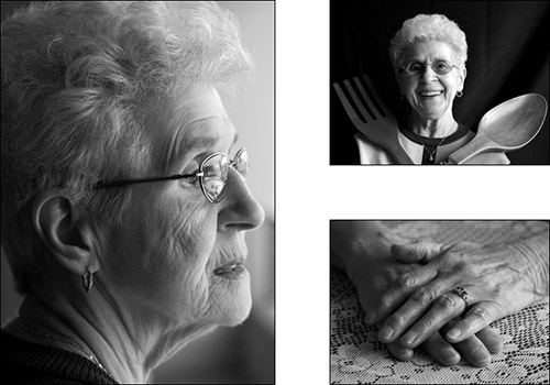 Grandma Frame Head