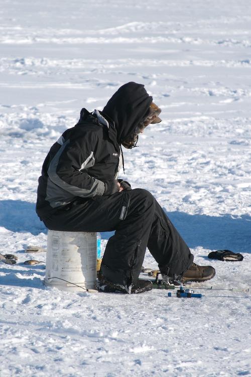 Presque Isle Ice Fisherman