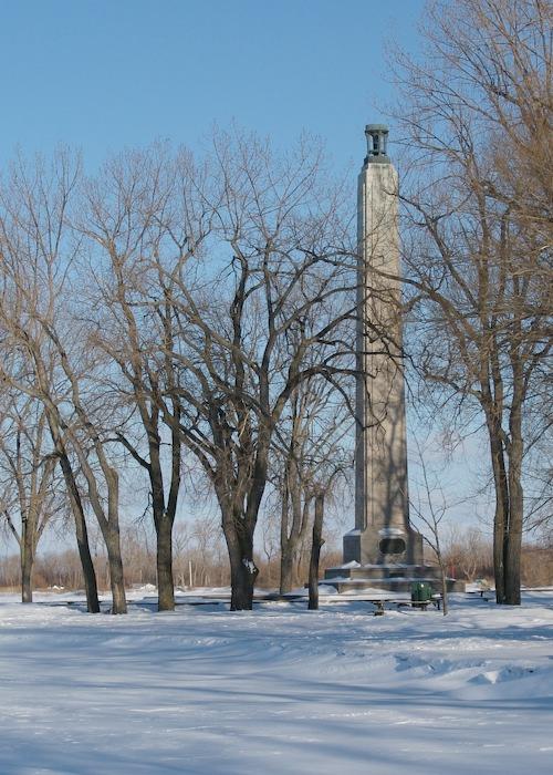 Presque Isle Winter Perry's Monument