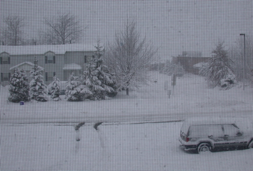 Snow in Erie, PA