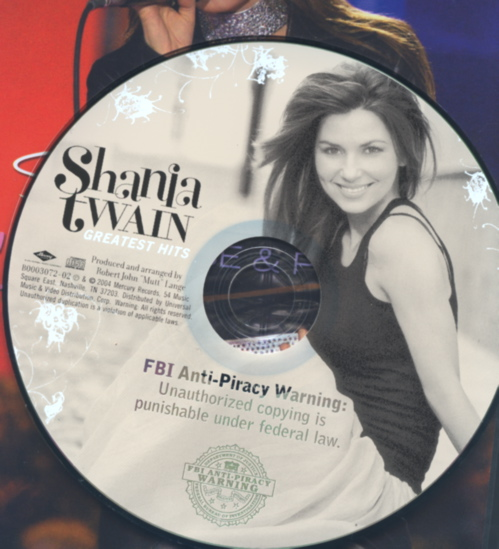 Shania FBI Warning